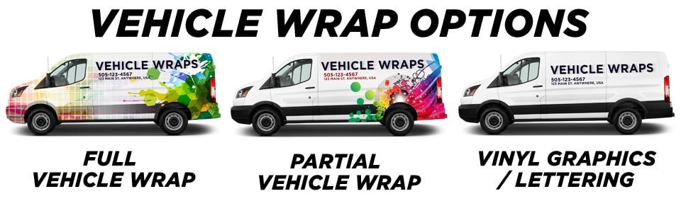 Colorado Springs Vehicle Wraps & Graphics vehicle wrap options